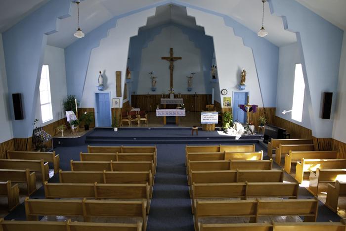 intérieur de l'église